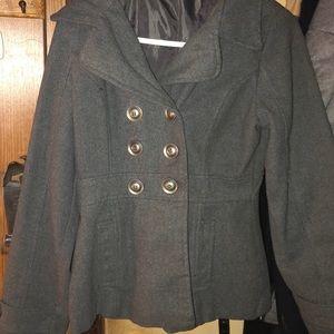 Used Double Breasted Pea Coat